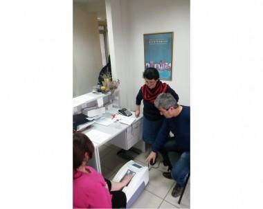 Μέτρηση Οστικής Πυκνότητας με υπερηχογράφημα πτέρνας